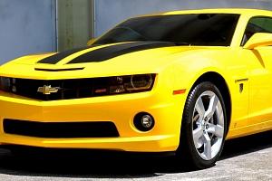 Jízda v Chevroletu Camaro...