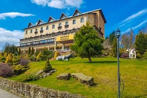 Kysucké Beskydy: Hotel Husárik **** s neomezeným jeskynním bazénem a snídaněmi...