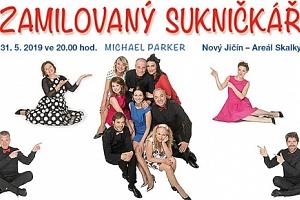 1 + 1 vstupenka zdarma na divadelní komedii Zamilovaný sukničkář, 31.5.2019 v Novém Jičíně...