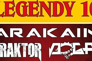 2 lístky na 10. ročník Legend v Novém Jičíně - ARAKAIN, TRAKTOR, DOGA, TANJA a další...