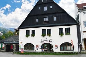 Měšťanský dům v Krkonoších s polopenzí pro dva...