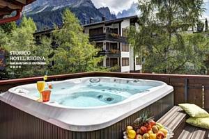 Wellness pobyt se snídaněmi v Dolomitech na 6 dní pro dva...