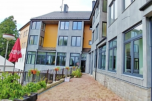 Lipno: Hotel se soukromou pláží a posilovnou + polopenze a děti do 5,9 let zdarma...