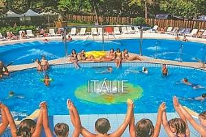 Itálie, Lignano: týden pro 1 osobu s polopenzí v kempu ve stanu...