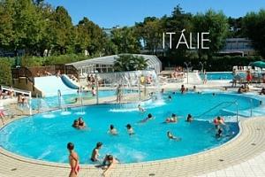 Itálie - Lignano: 7 nocí v karavanu s plnou penzí + možnost busu...