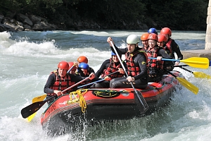 Rafting v Rakousku na 3 dny...