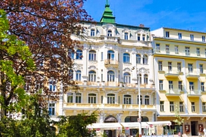 Mariánské Lázně s plnou penzí a wellness procedurami v Hotelu Polonia...