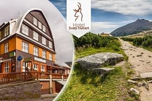 Pobyt ve Špindlerově Mlýně pro dva s polopenzí a saunou...