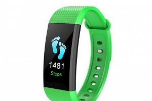 Náhradní řemínek pro smart band I9 SWB16 Barva: Zelená...