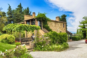 Léto nebo podzim v Toskánsku s vínem a večeří...