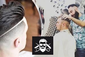 Pánský, chlapecký střih či úprava vousů v barber shopu v centru...