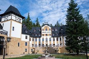 Romantika ve Spa & Wellness Hotelu Zámek Lužec **** s procedurami a polopenzí...