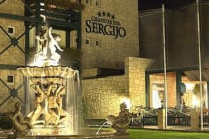 Lázeňské Piešťany pro 2 osoby s polopenzí a s neomezeným wellness v hotelu Sergijo....