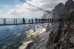 Adrenalinový jednodenní výlet do rakouského Dachsteinu...