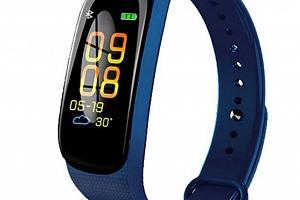 Fitness náramek M5- model 2019- 3 barvy SMW45 Barva: Modrá...