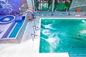 Polsko: luxusní Penzion Klimek **** s polopenzí a aquaparkem v lázeňském městě...
