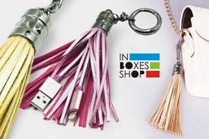 Elegantní a luxusní USB kabel - klíčenka Mizoo X900...