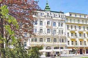 Mariánské Lázně v hotelu v centru s až 8 procedurami pro každého a plnou penzí, přes léto i na týden...