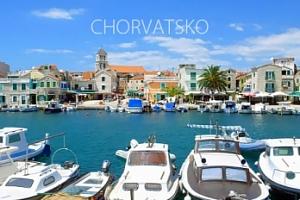 Chorvatsko, Vodice: 8 dní pro 1 osobu s možností dopravy...