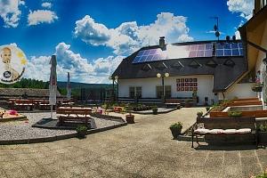 Hotel Zlatý potok na Šumavě se snídaní a bazénem...
