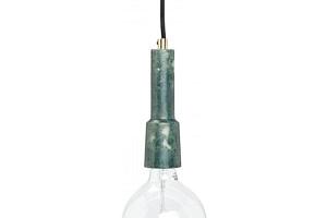 Závěsná lampa Green marble...