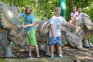 Rodinná vstupenka do DinoParku Vyškov...