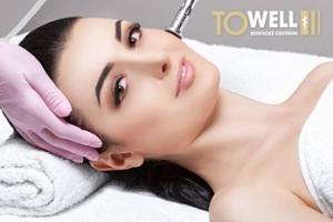 Luxusní kosmetické ošetření pleti...