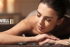 Výběr z masáží na 30 nebo 60 min. v Estetickém centru To Well...