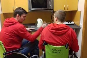Zážitkový kurz Život s handicapem...
