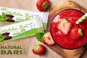 Přírodní proteinové smoothie, ořišky nebo balení proteinových tyčinek Natural Bars...