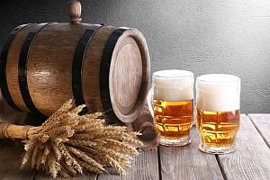 5l soudek nefiltrovaného piva Vincenz 12° z pivovaru Auersperg...