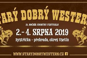 1 + 1 permanentka zdarma na festival STARÝ DOBRÝ WESTERN 2. - 4.8.2019...