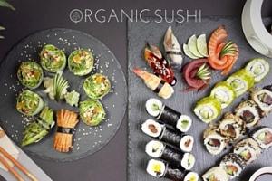 Degustační menu ORGANIC SUSHI pro 2 osoby...