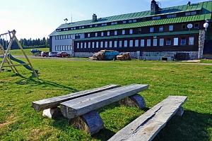 Krkonoše: Dvorská bouda s polopenzí a saunou + termíny červenec až prosinec...