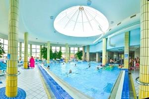 Dunajská Streda: Thermalpark s neomezeným termálním wellness a polopenzí...
