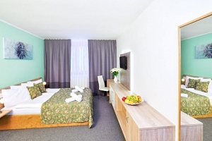 Jizerské hory: Amantis Vital Sport Hotel *** s polopenzí a neomezeným wellness...