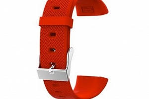 Náhradní řemínek pro fitness náramek QW18 SWB17 Barva: Červená...