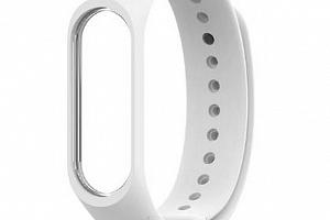 Náhradní silikonový řemínek pro Xiaomi mi Band 4/ Xiaomi Mi Band 3 SWB19 Barva: Bílá...