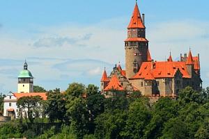 Vstupenka na pohádkový hrad Bouzov...