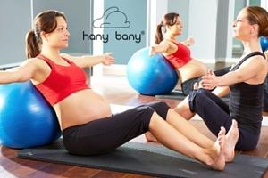 Cvičení pro těhotné - individuální trénink na 30 minut...