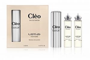 Lotus SET CLÉO | Eau de Parfum | 3x20...