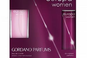 Gordano Parfums Europa Woman DEO SET | Dárkové balení...