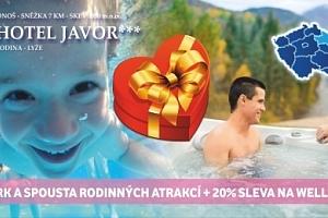 Super Hot deal! 4 dny s polopenzí v nejlepším rodinném hotelu JAVOR*** v Krkonoších + 1 dítě do 11…...