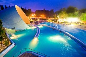 Miskolc Tapolca: Park Hotel *** s polopenzí, neomezeným wellness a půjčením kol...