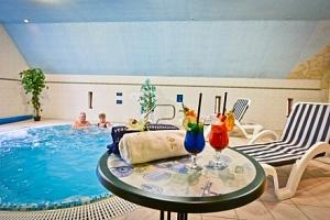 Eger v Hotelu Unicornis *** s plnou penzí, neomezeným wellness a masáží...