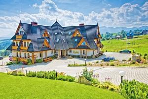 Polské Tatry v hotelu s polopenzí a neomezeným wellness...