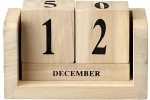 Stolní kalendář Nature wood (kód PODZIM2019 na -20 %)...