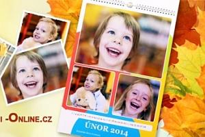 Stolní či nástěnné kalendáře s vašimi fotografiemi...