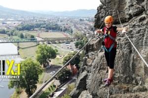 Via Ferrata: lezení s instruktorem po Pastýřské stěně pro 1-3 osoby...