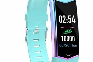 Multibarevný fitness náramek LV08- 3 barvy SMW51 Barva: Zelená...